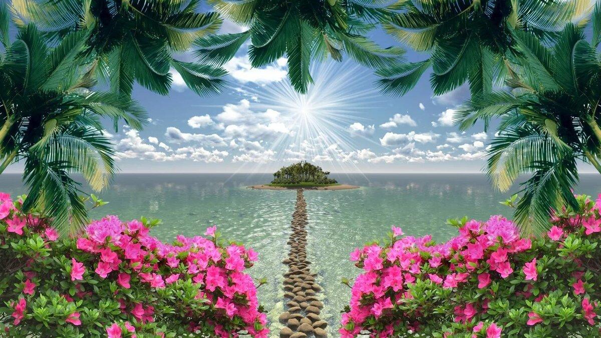 картинки о природе рай