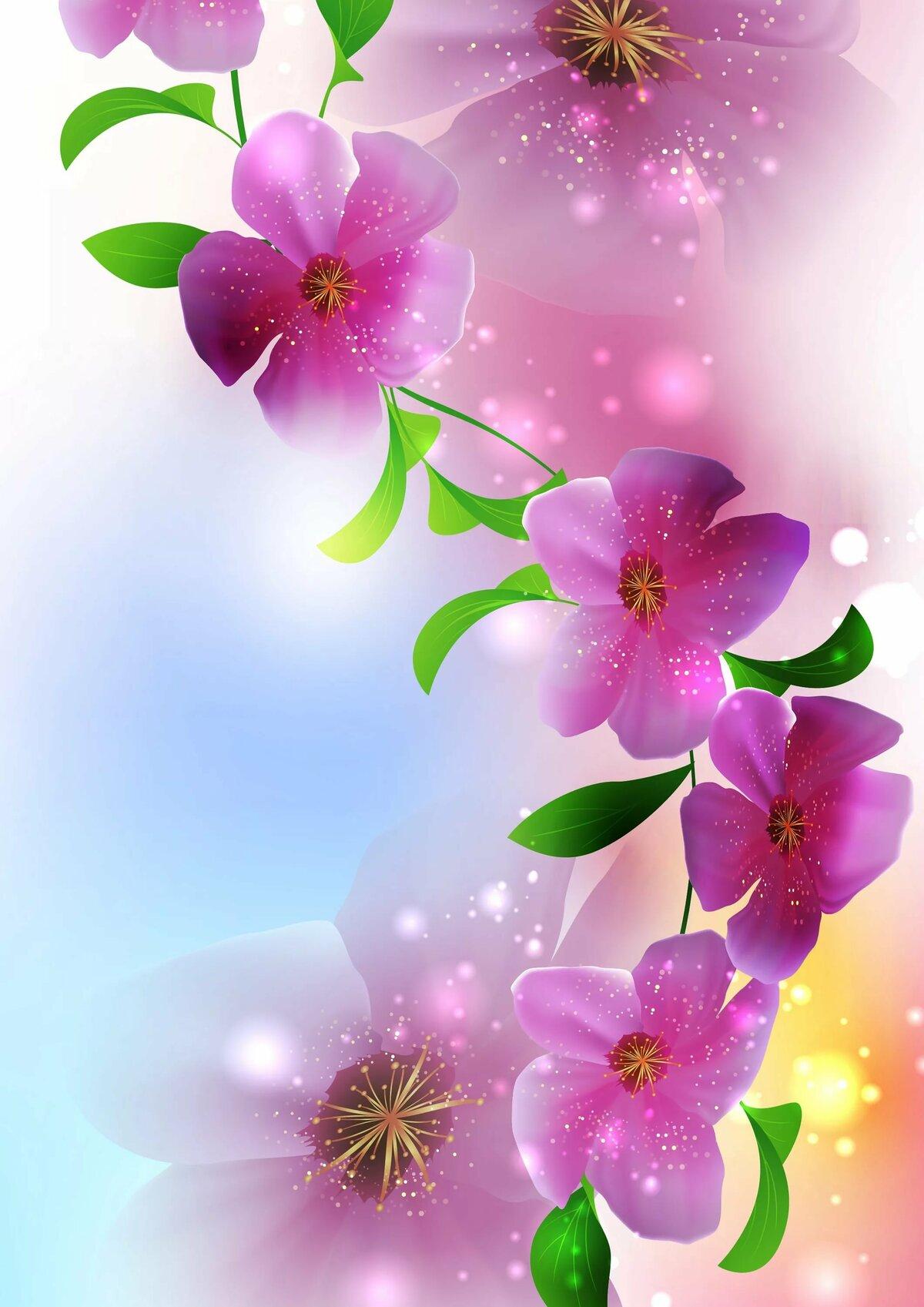 Картинки вертикальные цветы красивые на телефон