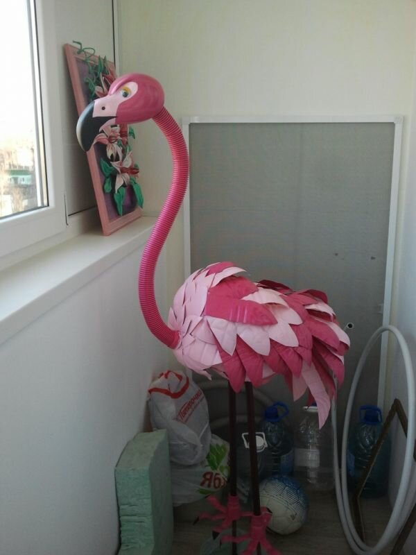 рассказ фламинго из полторашек своими руками фото делал кукол разного
