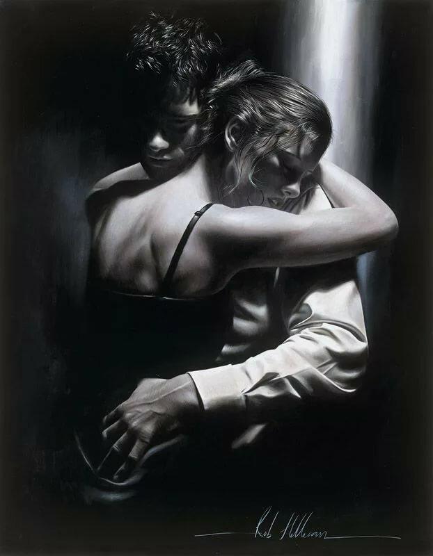 Картинки про любовь с надписями со смыслом черно белые