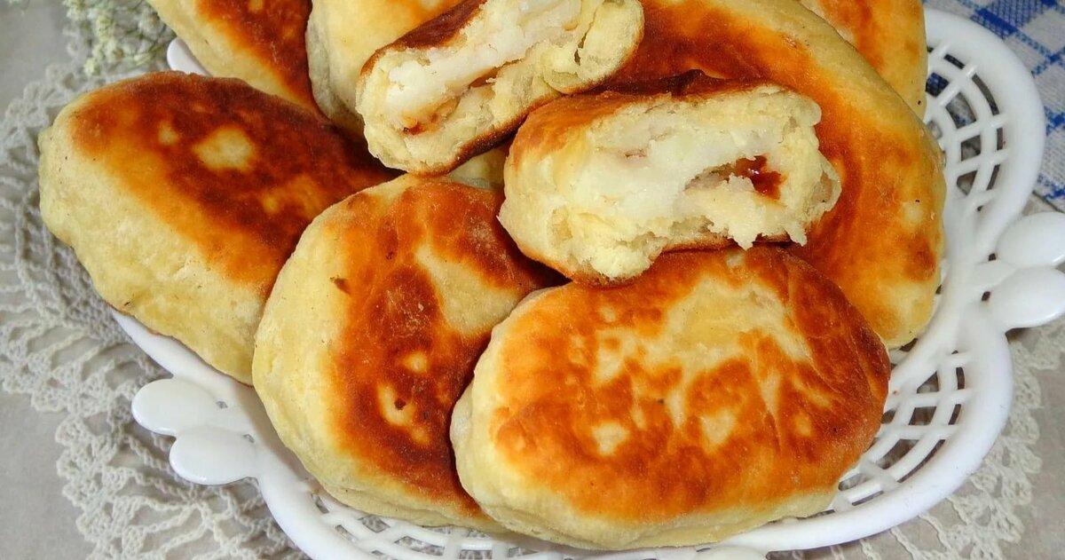 Рецепты в фото жареных пирожков з картошкой