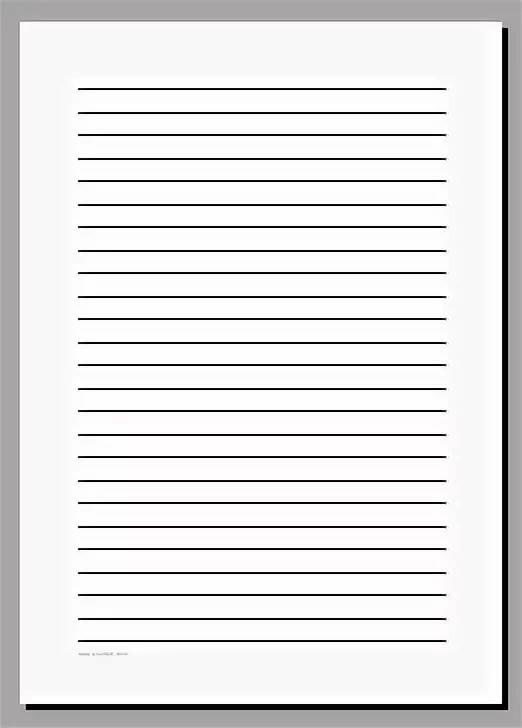 Картинка листа а4 с линиями