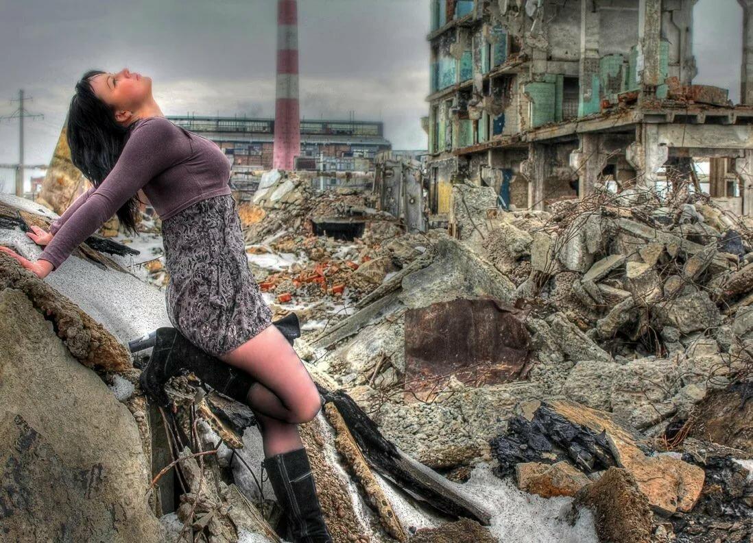 практическим условием красивые фотосессии в развалинах изящный