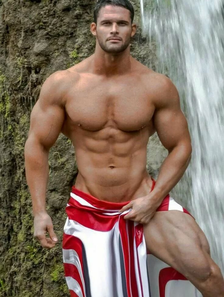 Male muscle sexy