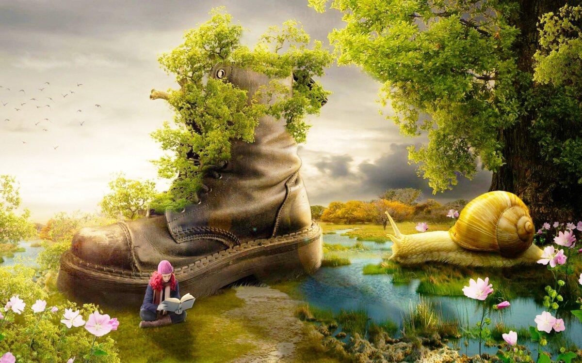 Сказочный мир природы картинки