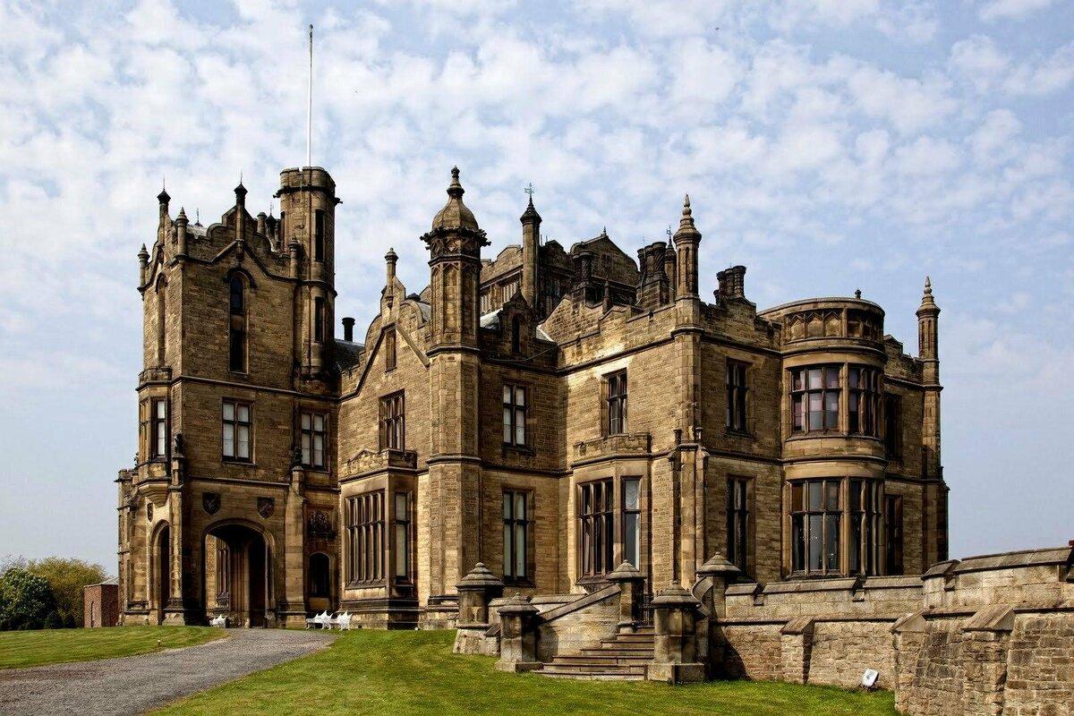 фото красивых старинных английских замков поле боя управляйте
