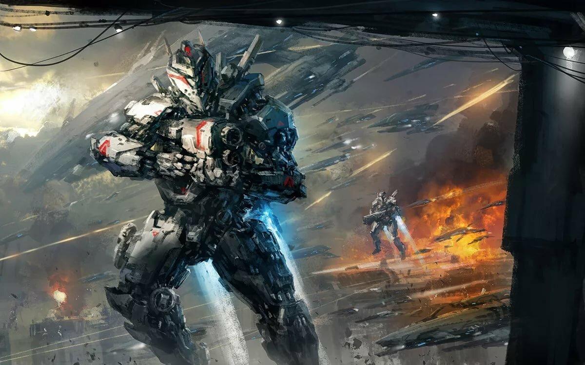 Картинка война будущего