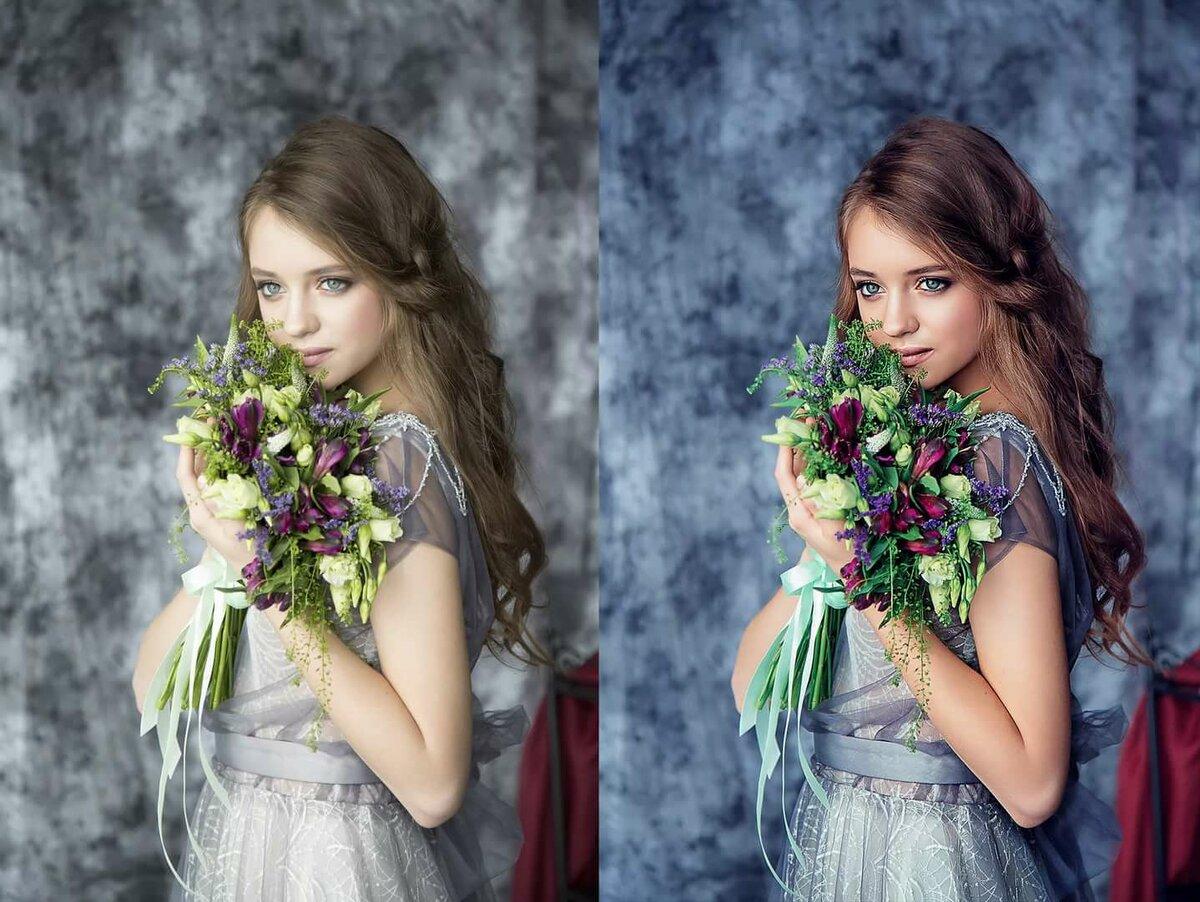 теория обработки фотографий фигурки запекают