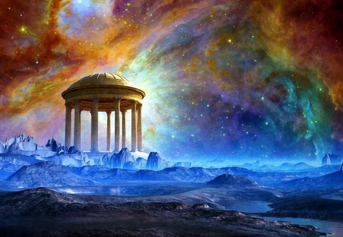 Космическая фантазия картинки