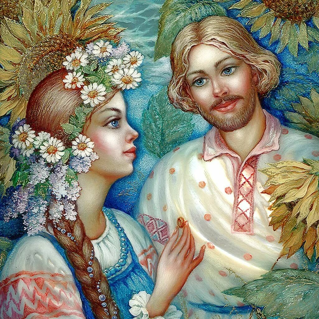 Картинки славянских сюжетов