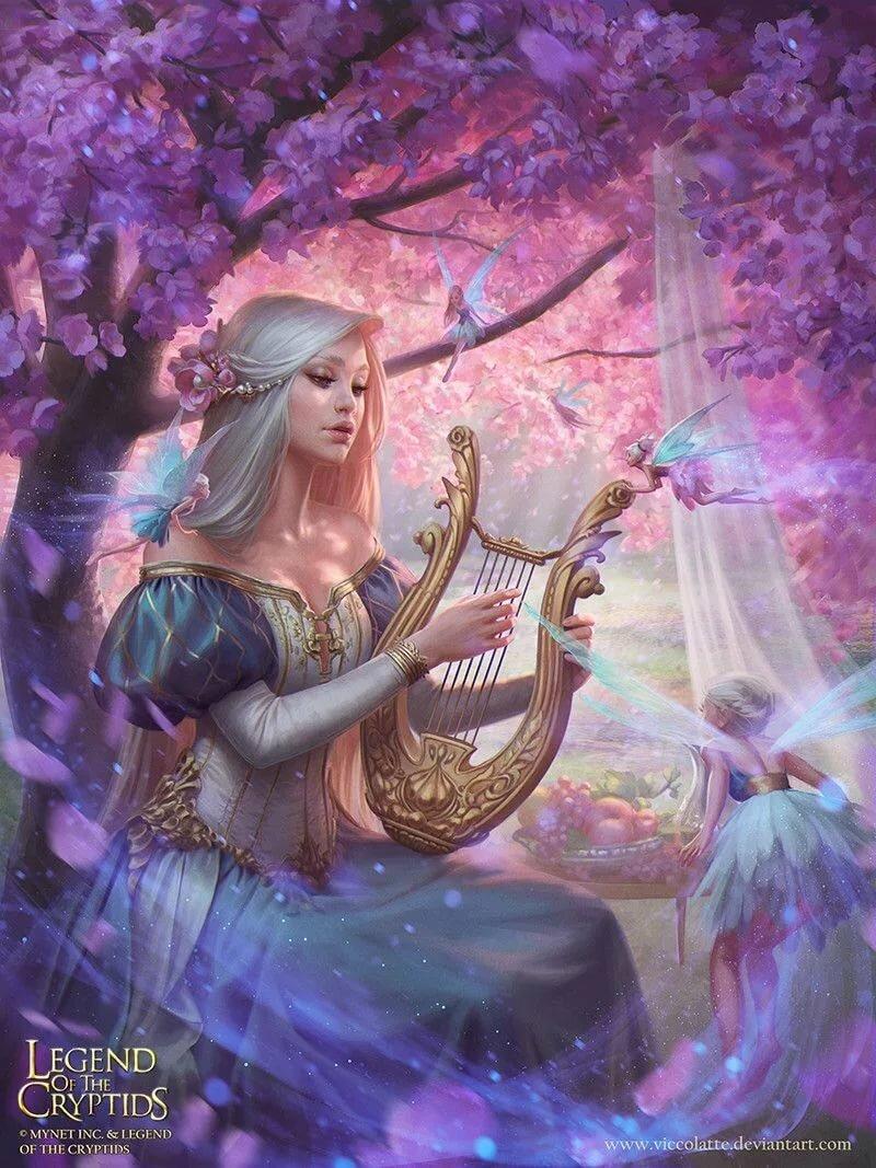 Картинки песнь эльфов