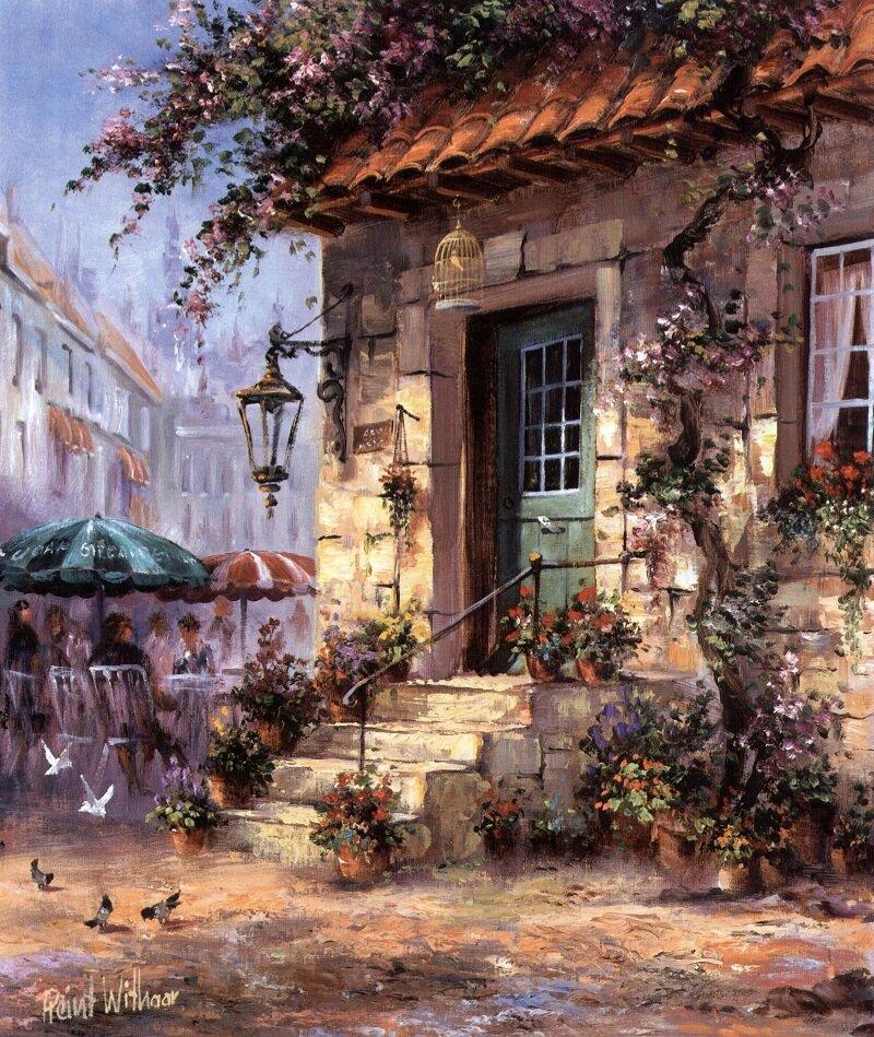 Старинные картинки в стиле прованс, открытки добрым утром