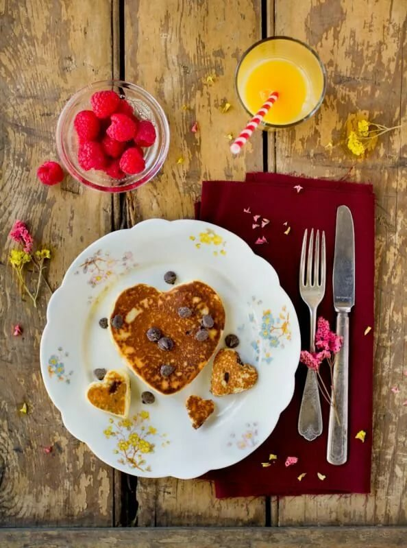 healthy valentines day breakfast - 594×799