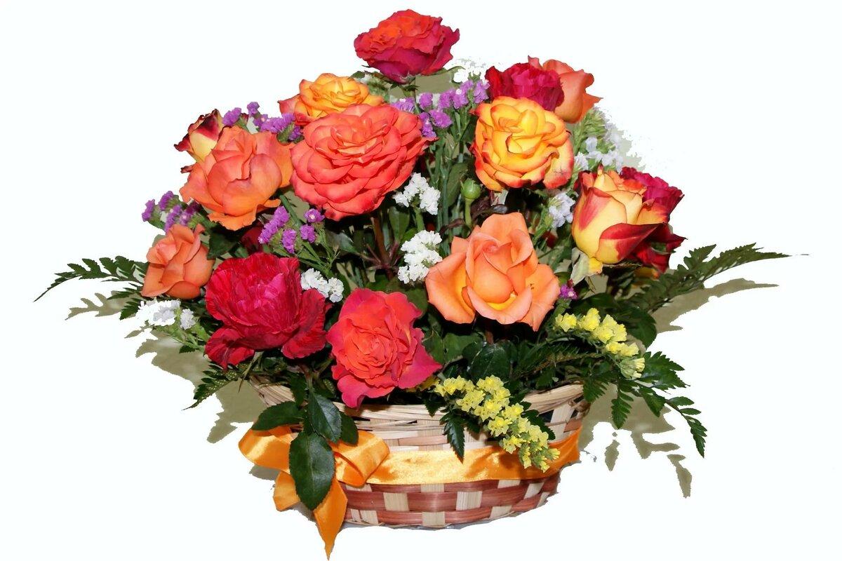 Букеты цветов фото красивые на прозрачном фоне