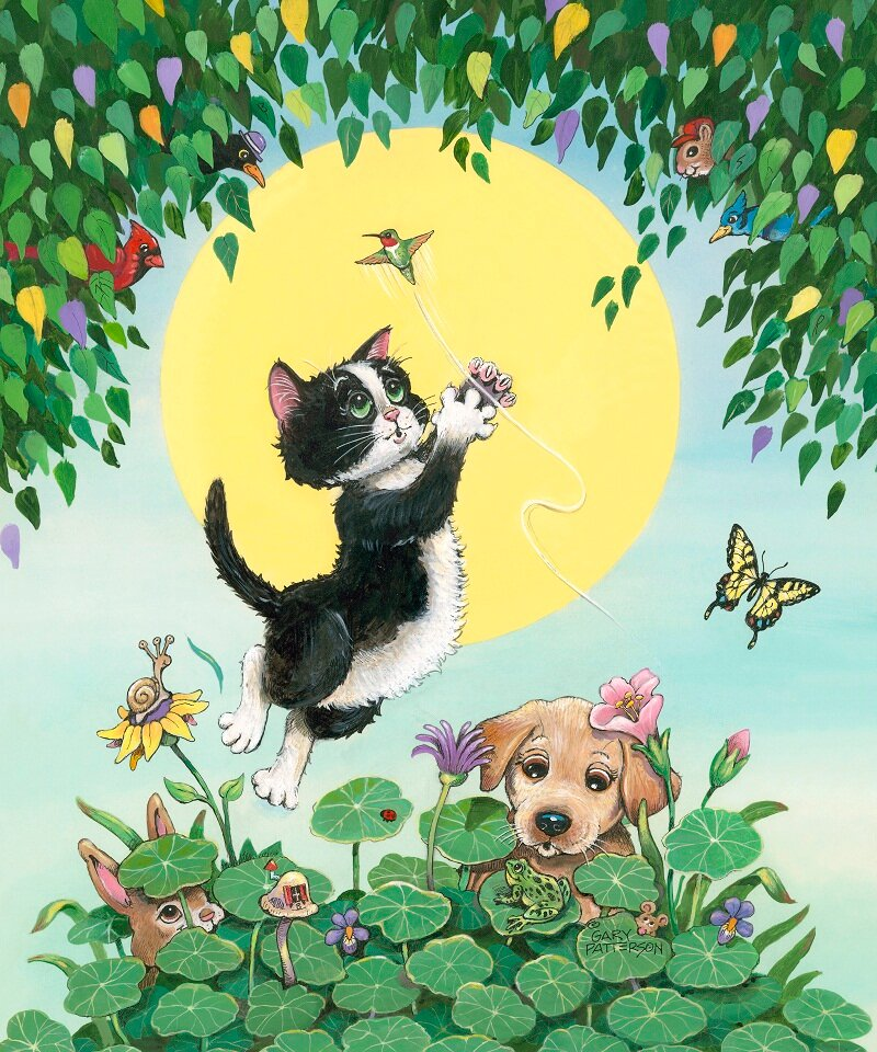 Смешные рисунки собак и котов