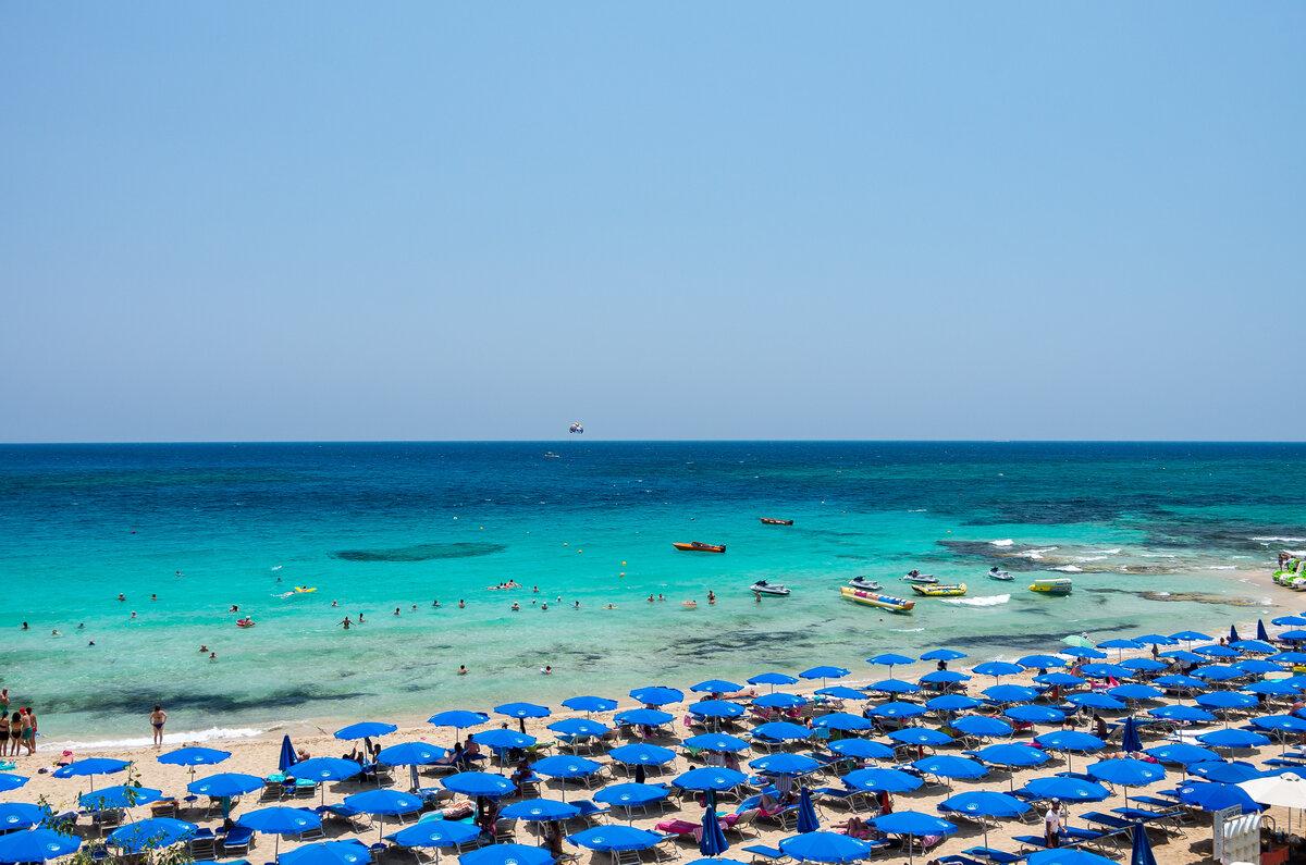 Какое море на кипре айя напа фото