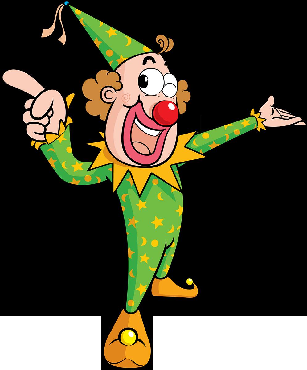 Картинки для детей пнг на прозрачном фоне клоун