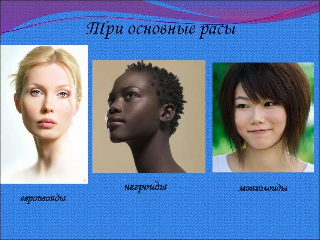 расы людей в картинках как сфотографировано