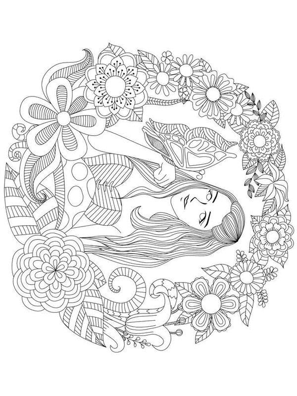 54 карточки в коллекции раскраски для девочек пользователя
