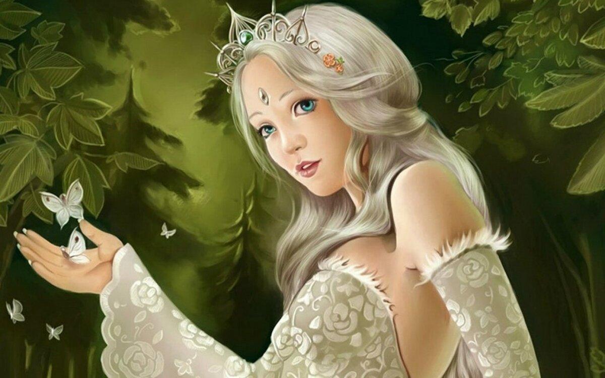 Красота в сказках в картинках