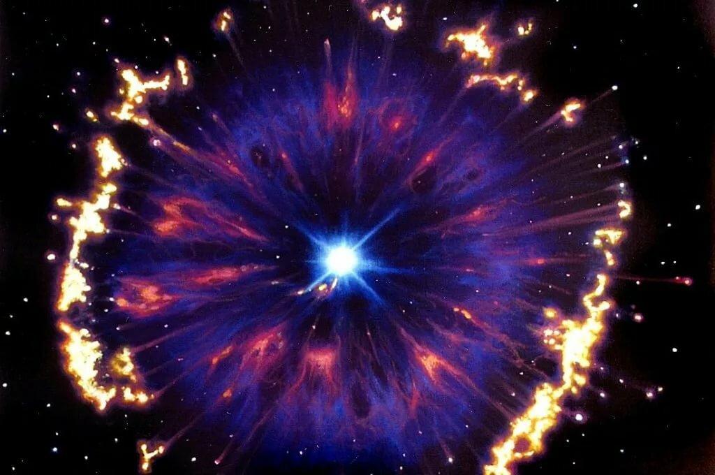 Картинка внутри звезды