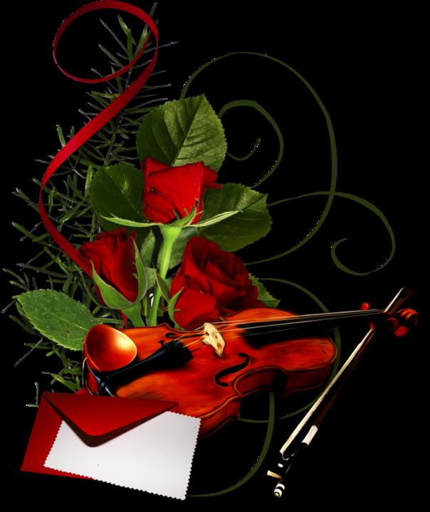 Музыкальные картинки для поздравления, открытки картинки