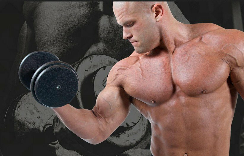наращивание мышц с картинками один