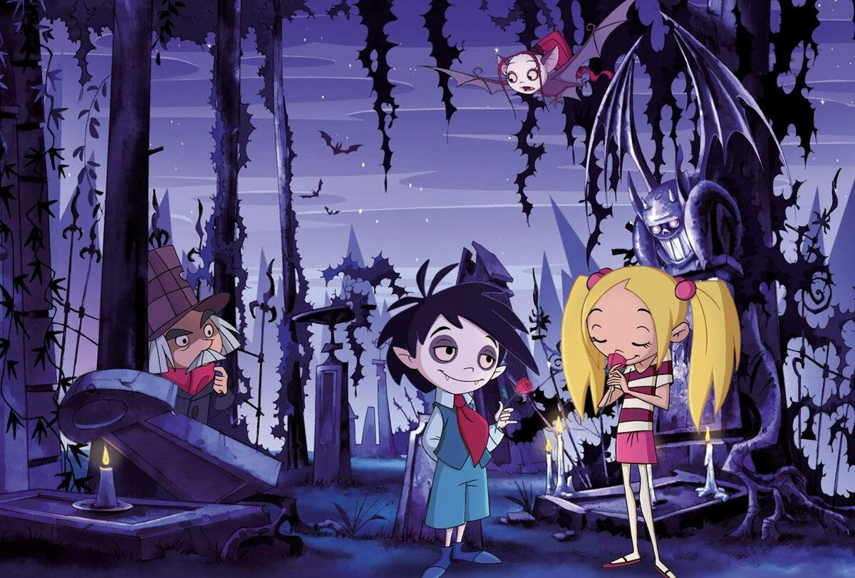 Картинка школы вампиров
