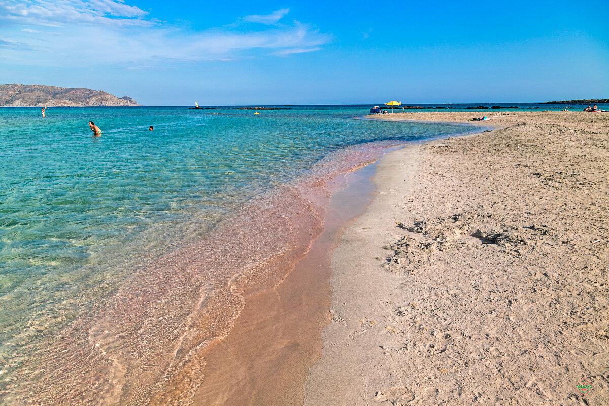 Пляжи крита в картинках