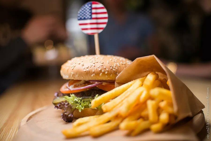 Картинки на тему американская еда