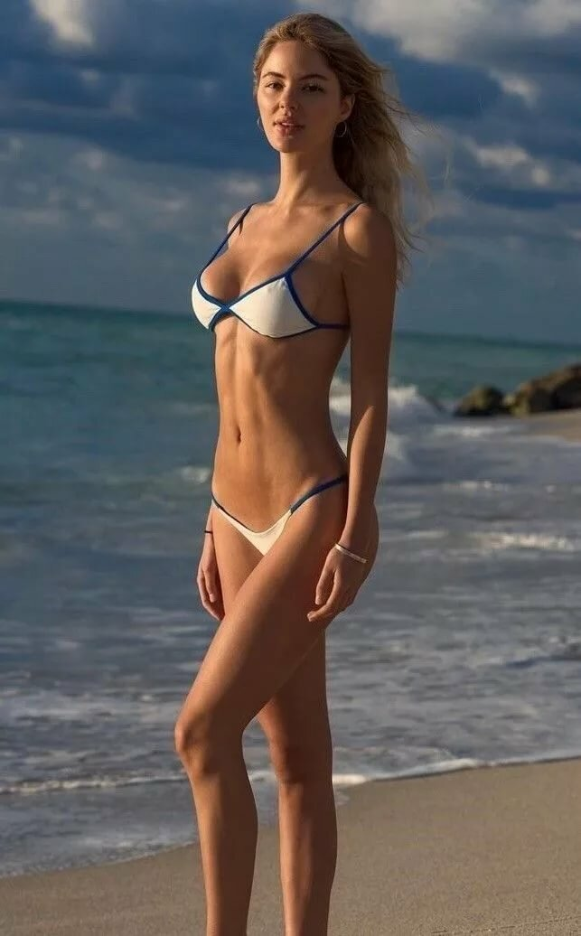 Skinny bikini body