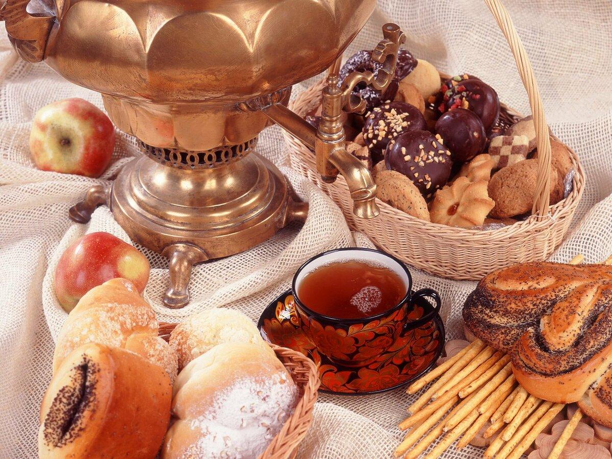 Гиф для, картинки с чаем и пирогами