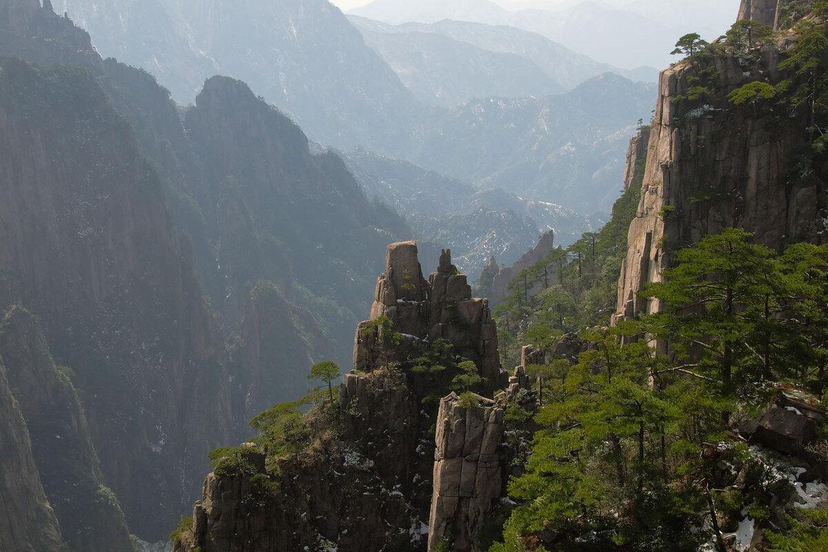 китайские горы фото