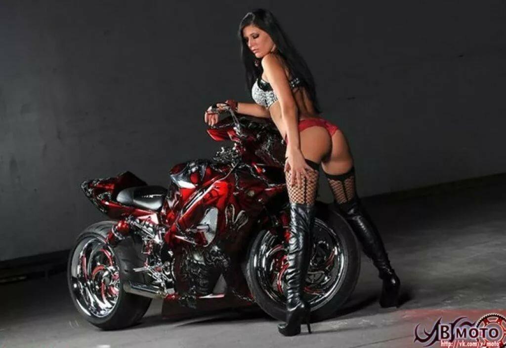 девушки и мотоциклы эро фото тоже