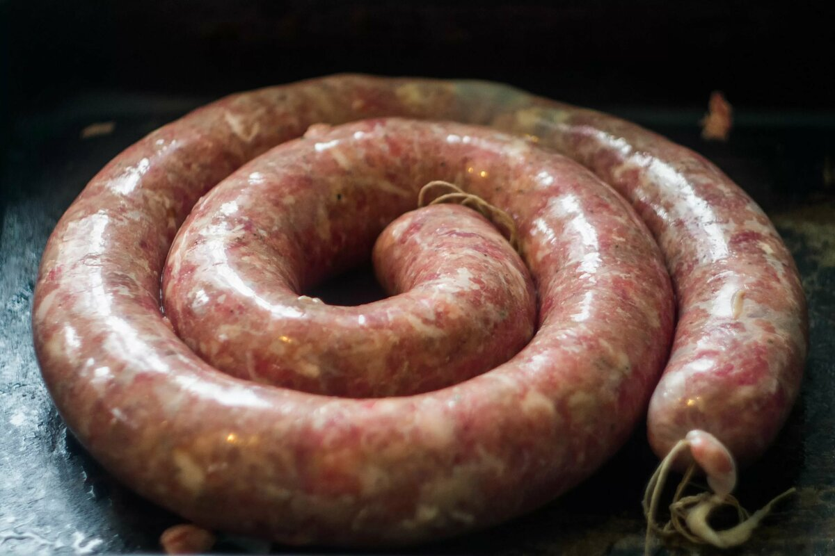 рецепт домашней колбасы в картинках номера