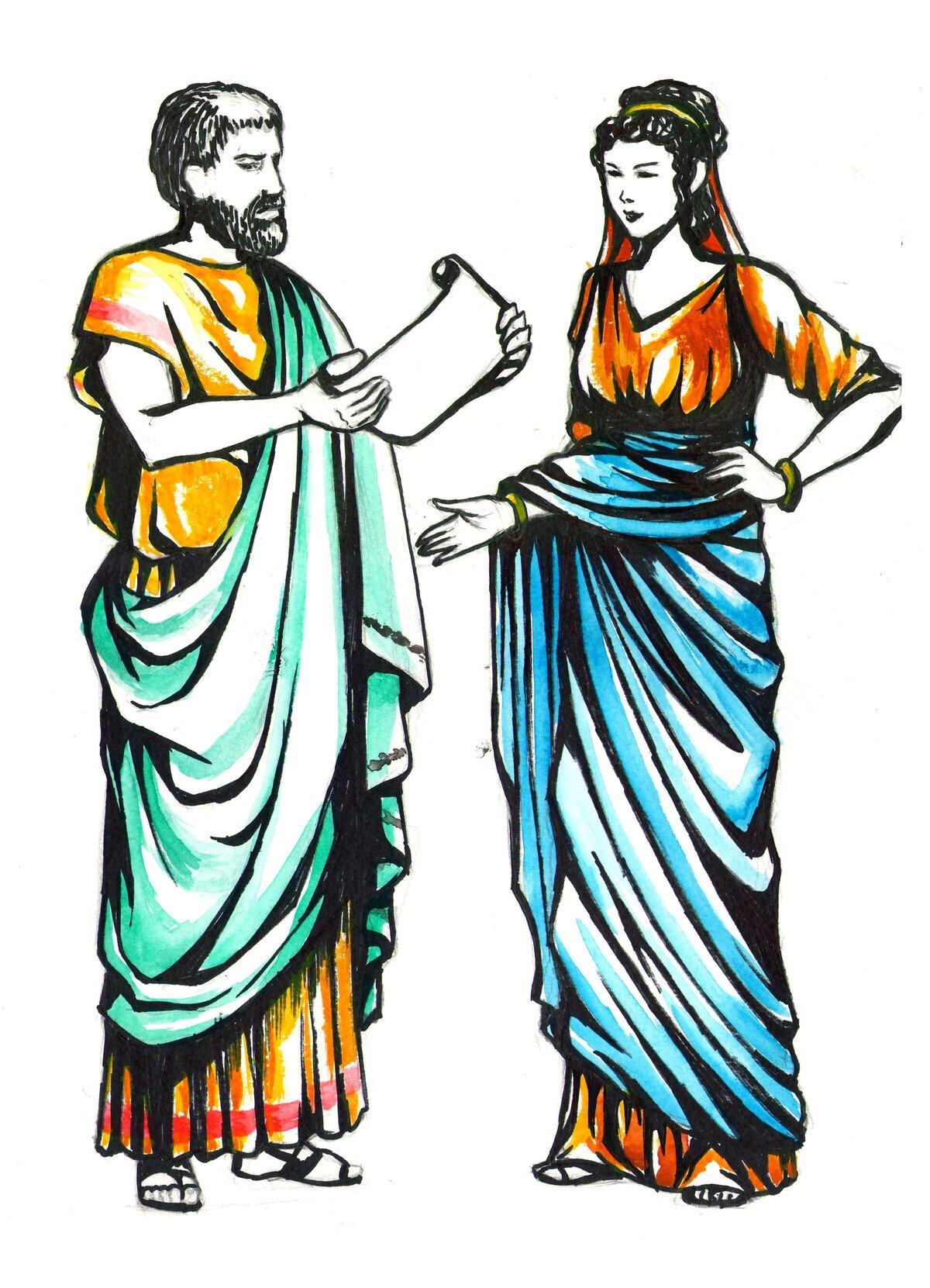 картинка древний грек серии
