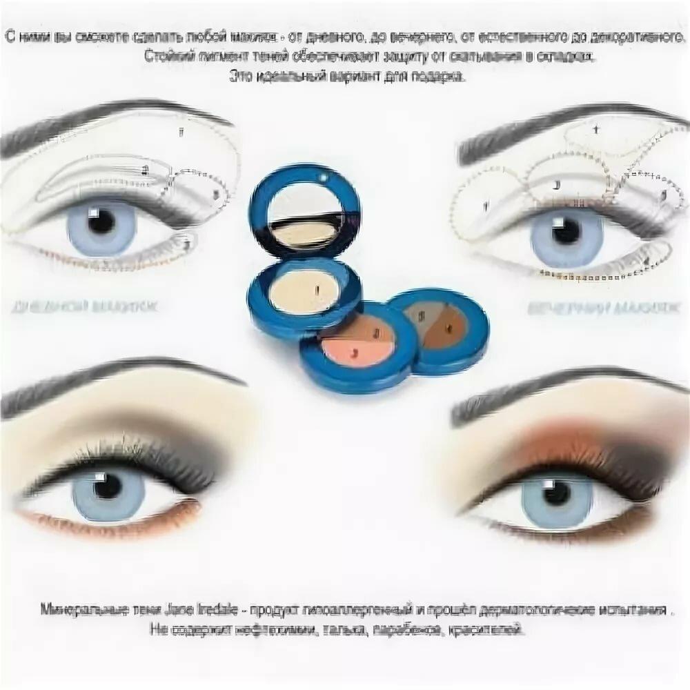 правила макияжа глаз с картинками