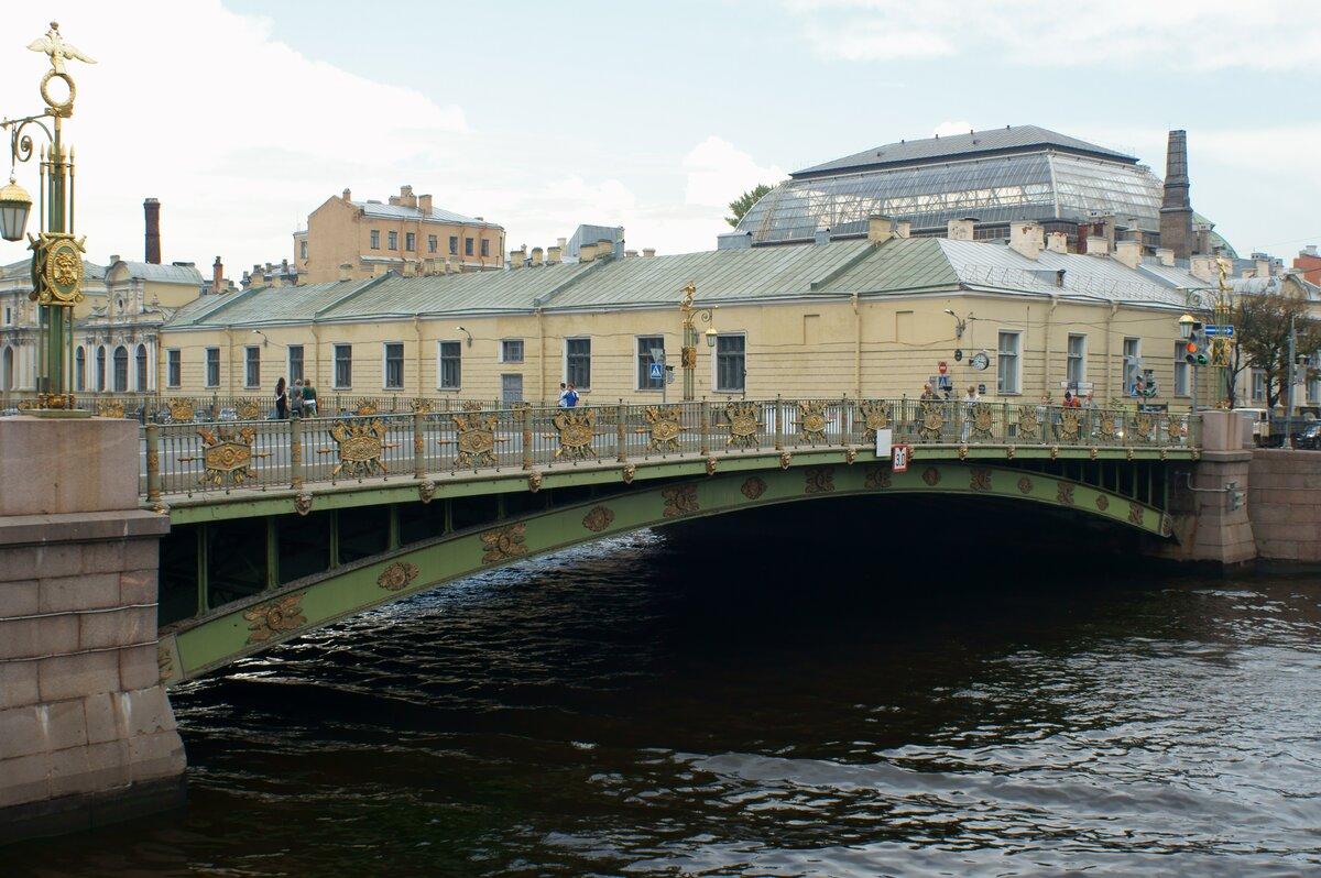 фото пантелеймоновского моста на фонтанке плетение хорошо