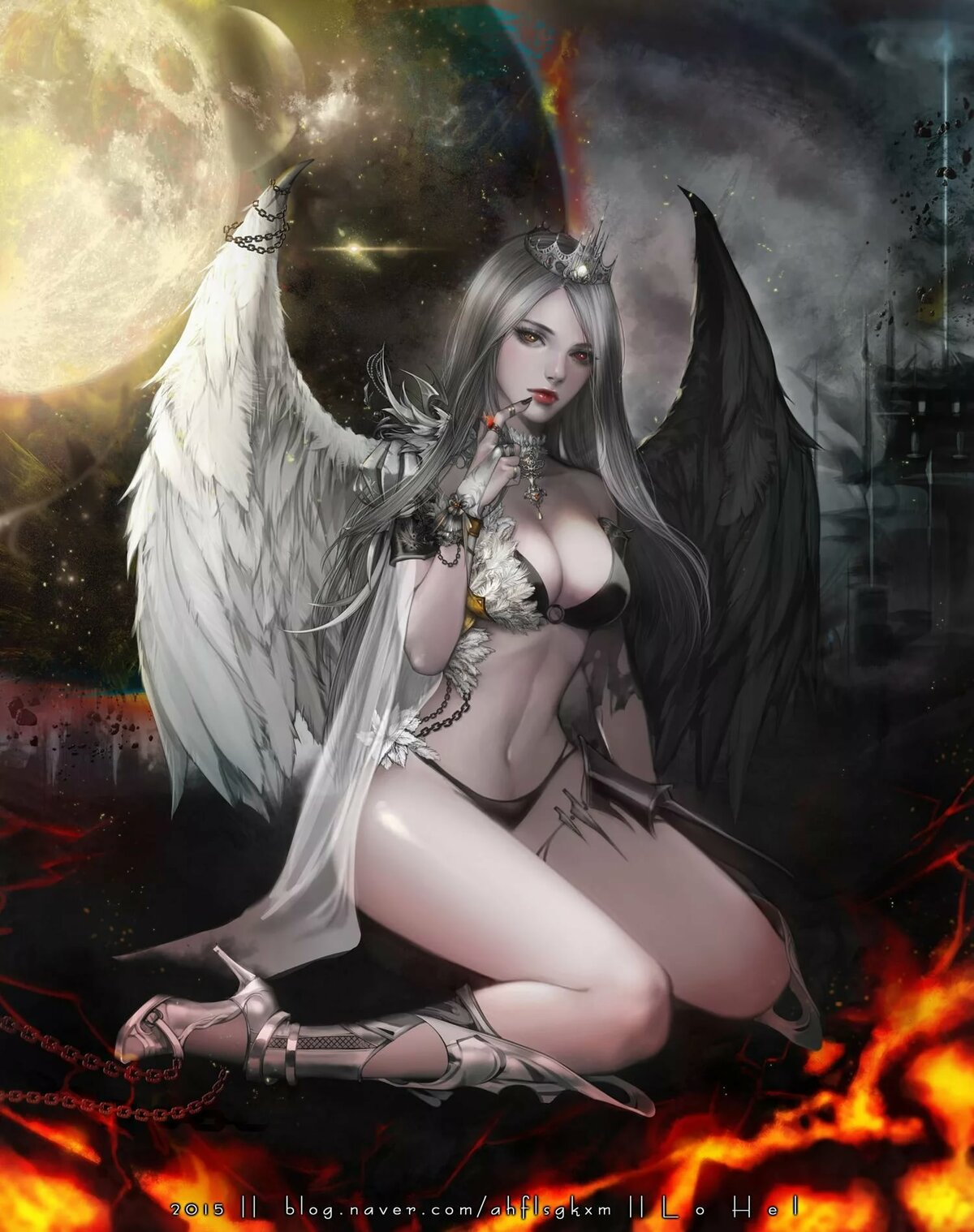 Dark ages sexy girl