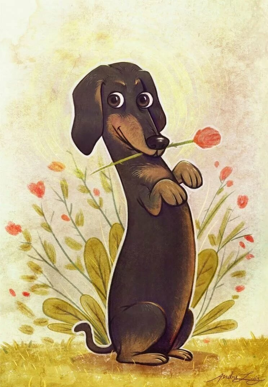Нарисованные собаки прикольные картинки, картинках курбан-байрам