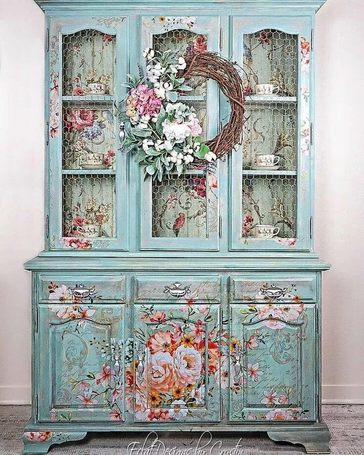 может картинки декорирование мебели целый ряд