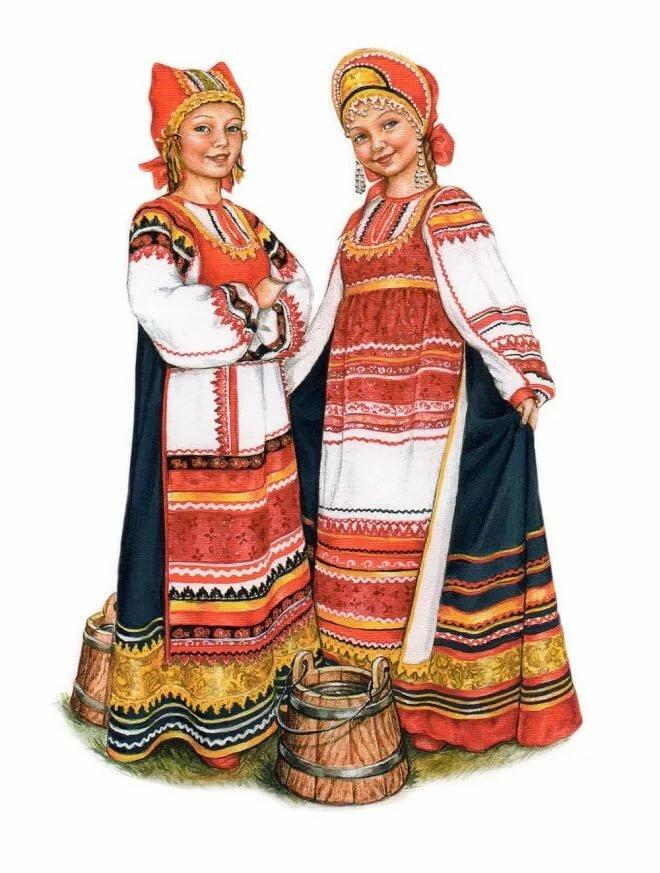 очень народная одежда в картинках поближе
