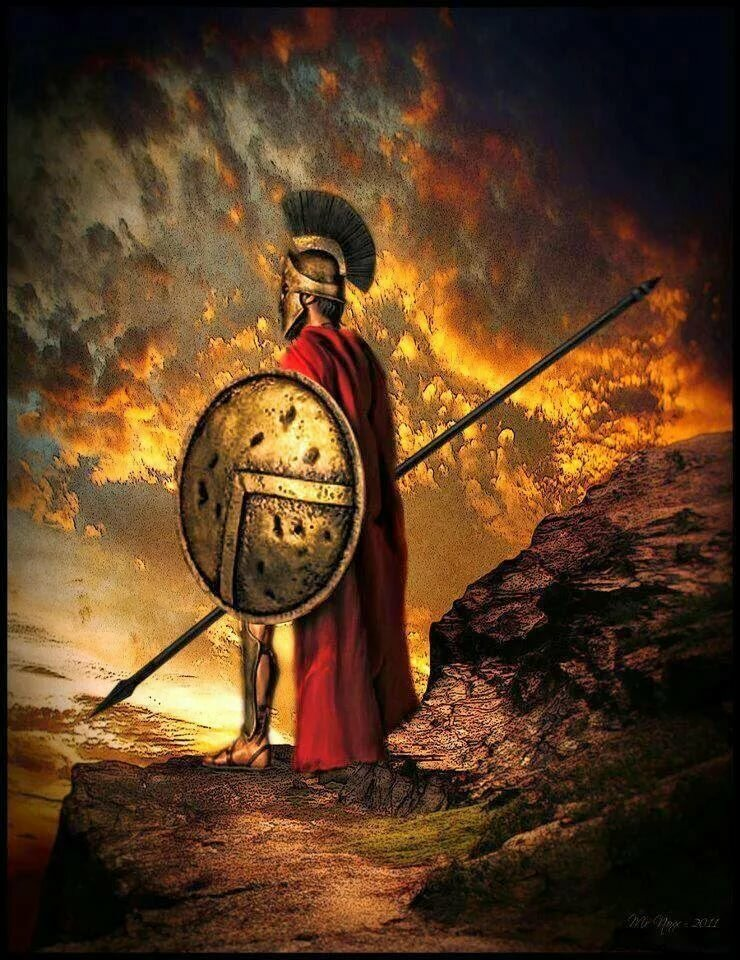 одно проявление воины спартанцы фото пустой