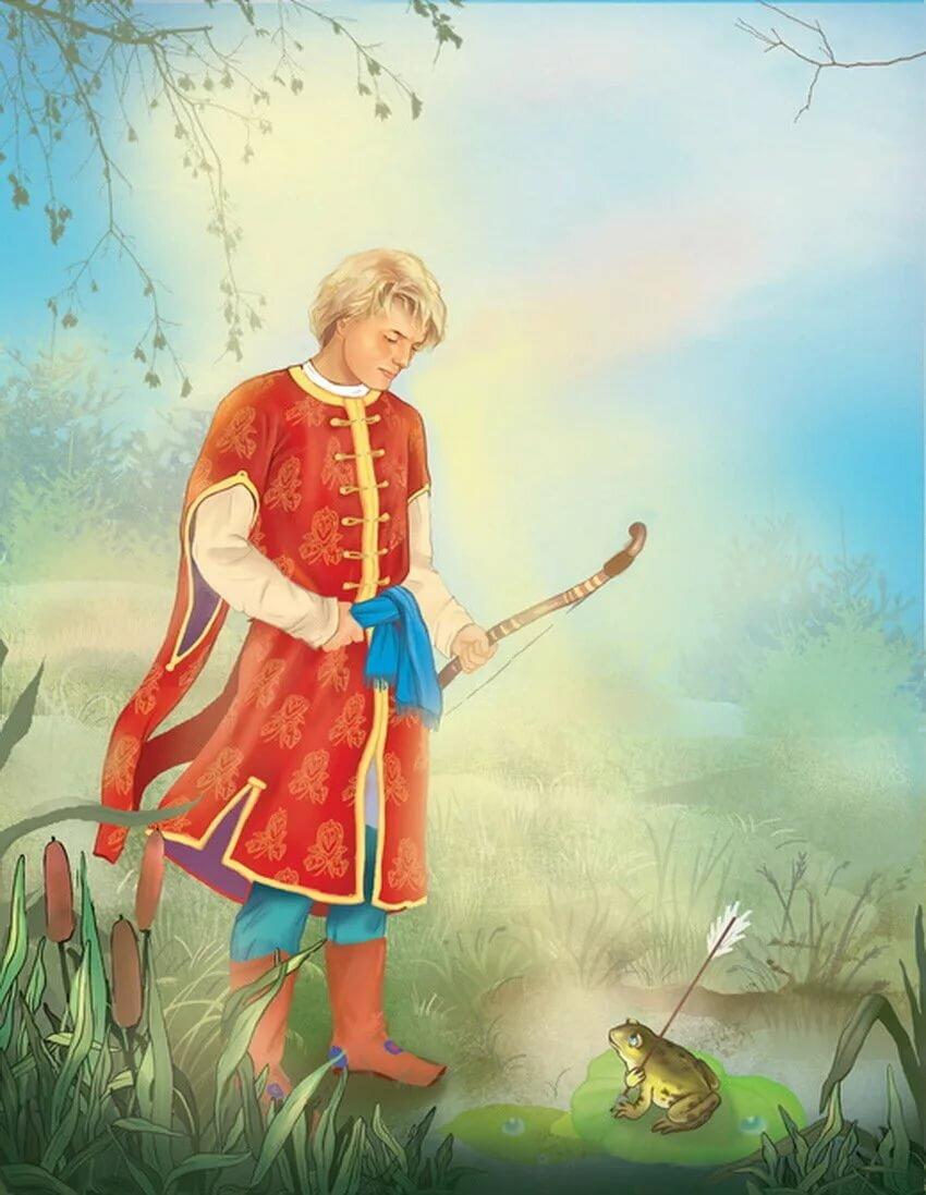 Картинки из сказки царевна лягушка ивана царевича