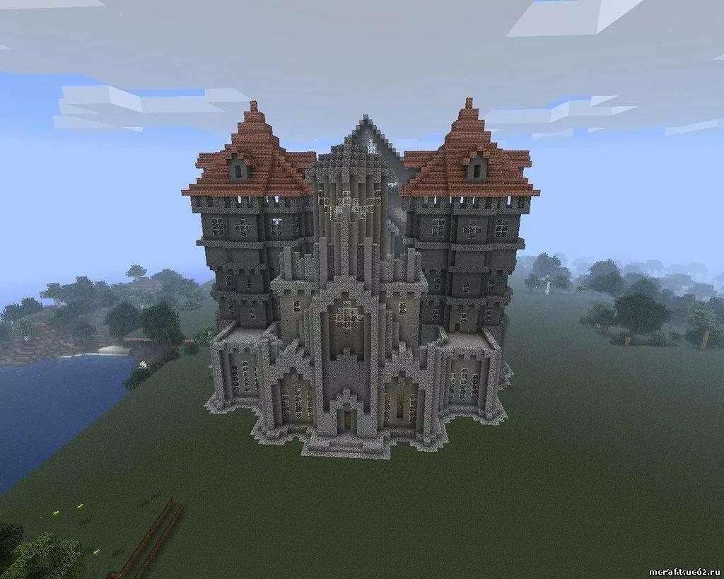как строить замки в майнкрафте #8