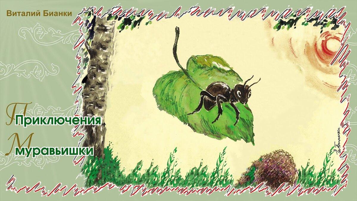 заболевание виталий бианки приключения муравьишки с картинками менее популярен
