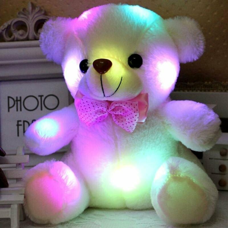 Светящийся плюшевый мишка в Жанаозене