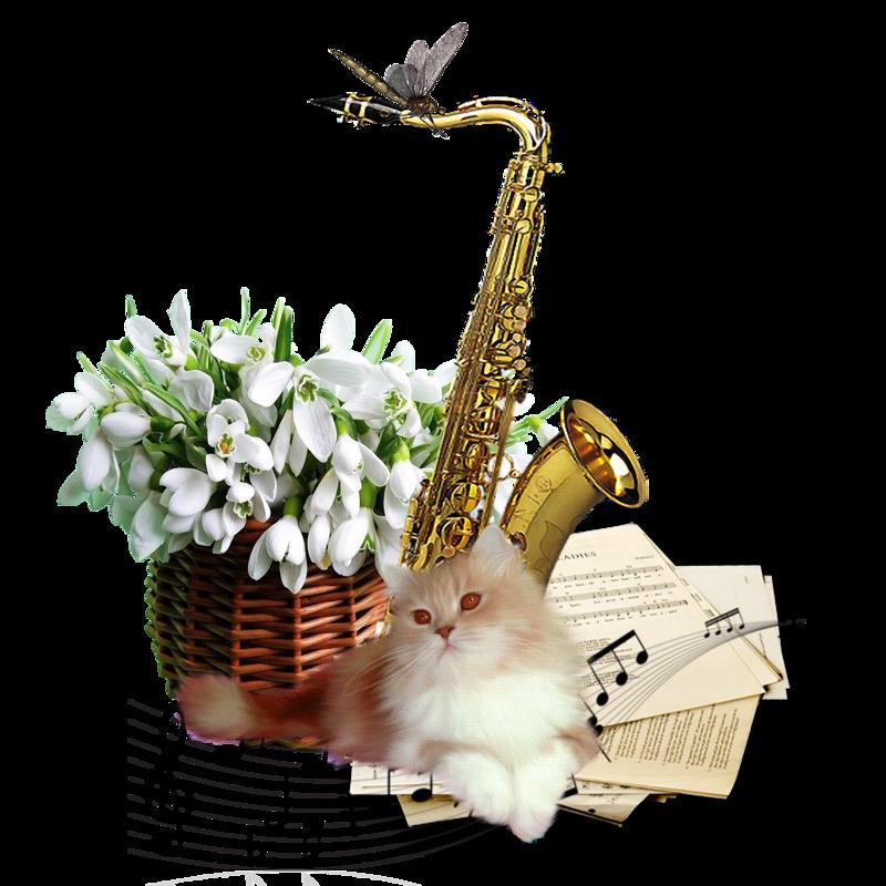 3д открытки с днем рождения саксофонист прикольные