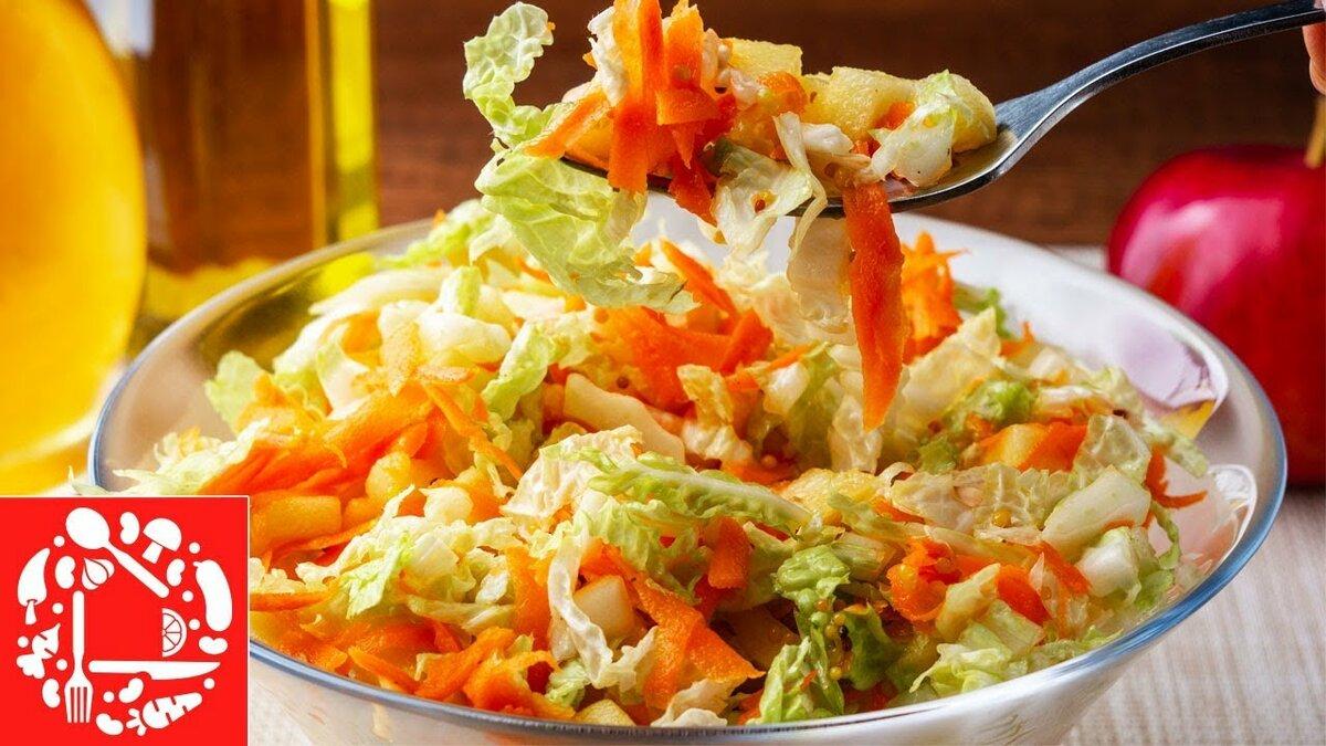 Салат из пекинской капусты рецепты с фото модель, судя