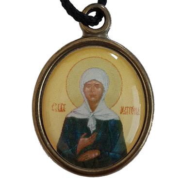 Нательная икона Матрона Московская в Черкесске